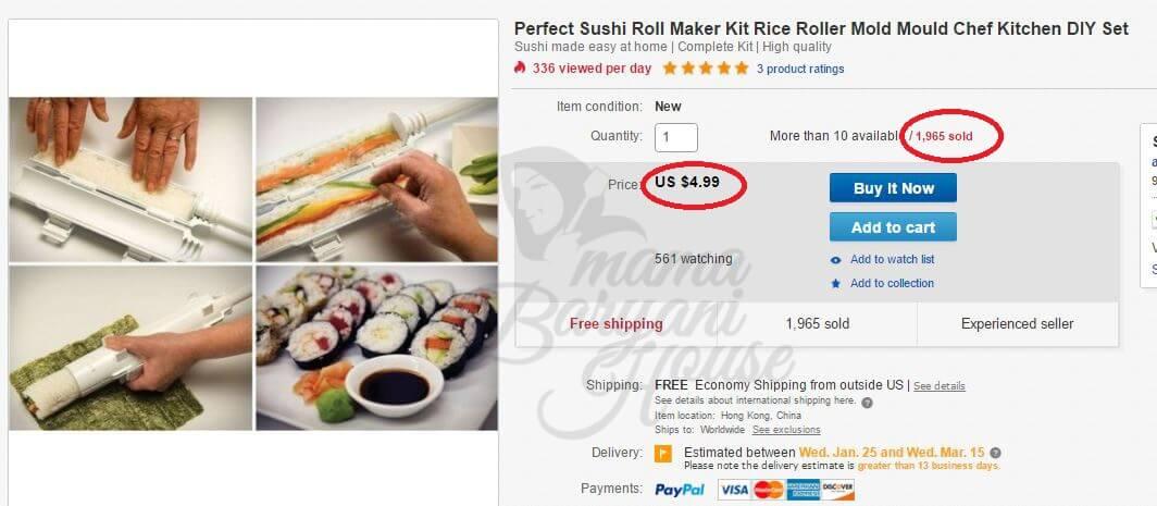 Bagaimana Lelaki Ini Berjaya Buat Sale Lebih RM13,294 Di Ebay Dalam Tempoh Kurang Sebulan Dengan 100% Teknik Dropship! 2