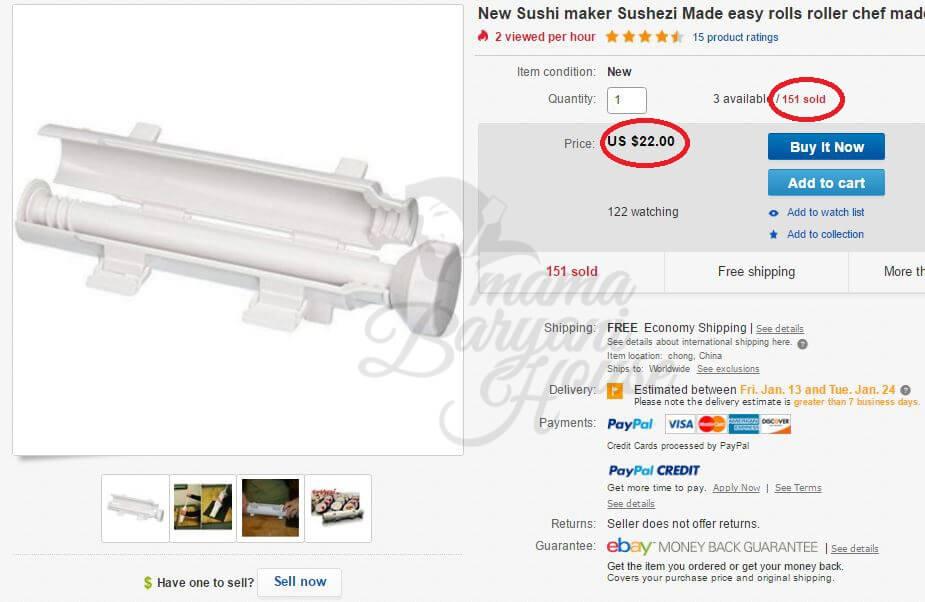 Bagaimana Lelaki Ini Berjaya Buat Sale Lebih RM13,294 Di Ebay Dalam Tempoh Kurang Sebulan Dengan 100% Teknik Dropship! 3