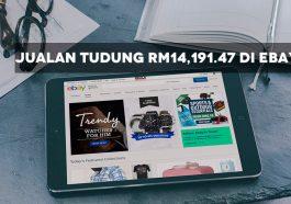 Jualan Tudung RM14,191.47 di eBay 1