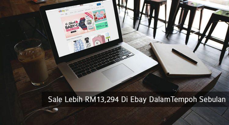 Bagaimana Lelaki Ini Berjaya Buat Sale Lebih RM13,294 Di Ebay Dalam Tempoh Kurang Sebulan Dengan 100% Teknik Dropship! 1