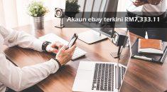 Akaun ebay terkini RM7,333.11 10