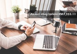 Akaun ebay terkini RM7,333.11 1