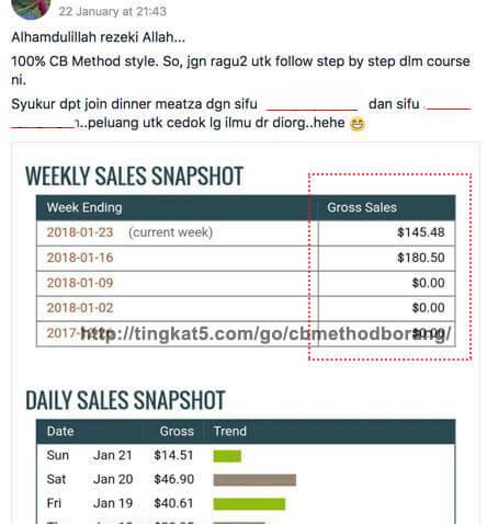 Pelajari Bagaimana Mereka Ini Jana Pendapatan USD Dengan Promot Produk Tanpa FB Ads 3