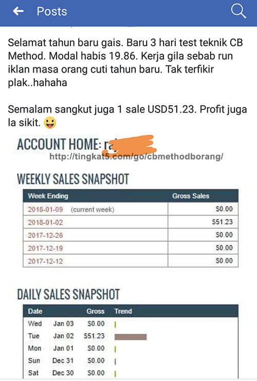 Pelajari Bagaimana Mereka Ini Jana Pendapatan USD Dengan Promot Produk Tanpa FB Ads 6